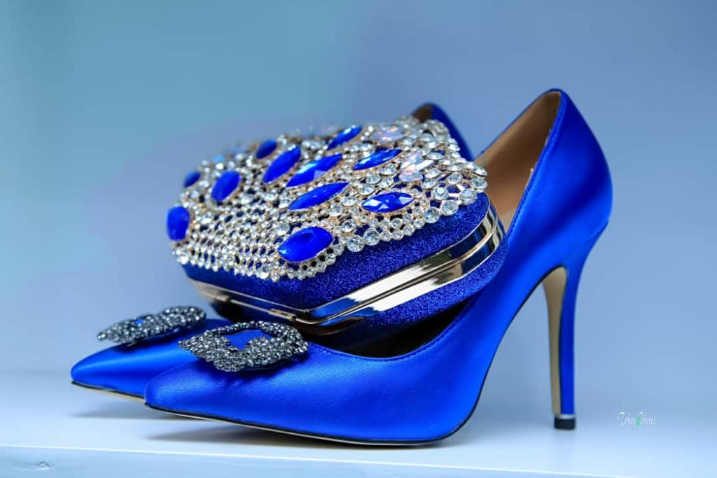 Royal Shoe with Clutch