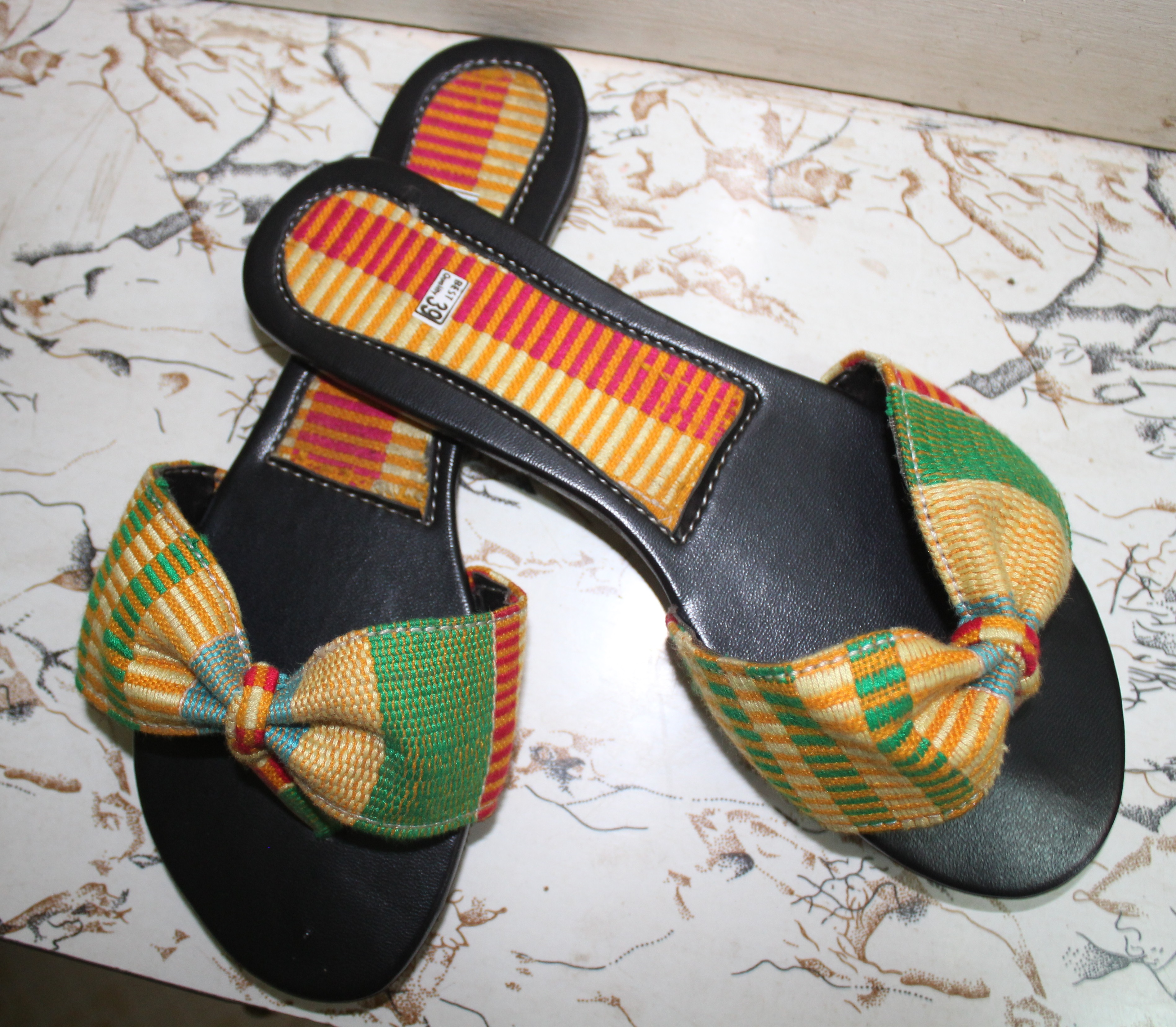 African Lady's Slippers – Kente