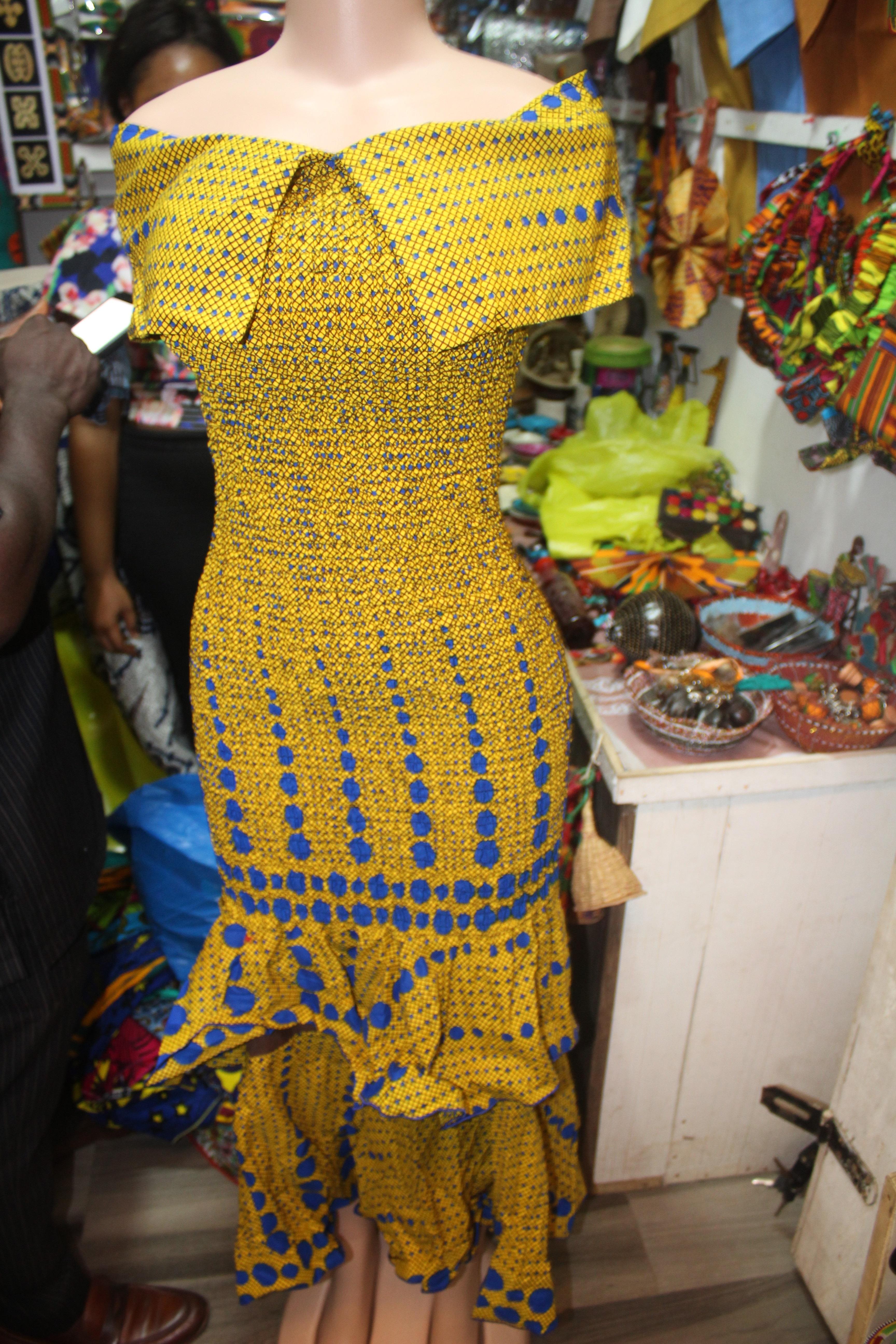 Ladies Africa dress