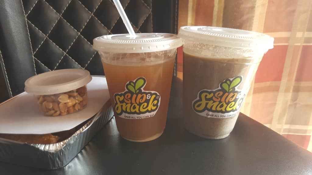 Flavorful local drinks with delicious pastries